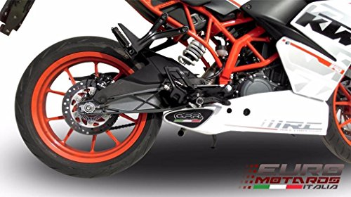 Gpr Stabilizer (KTM RC 390 2015-2016 GPR Exhaust Systems Deeptone Ghost Steel Silencer Road Legal)