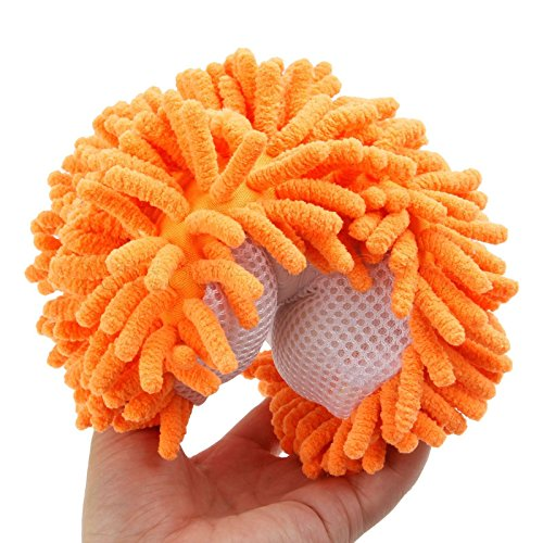 1pc Microfiber Washing Brush Sponge Pad Car Window Home Cleaning Duster Tools
