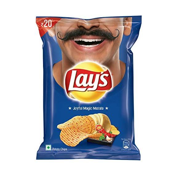 Lay's Potato Chips - India's Magic Masala, 52g