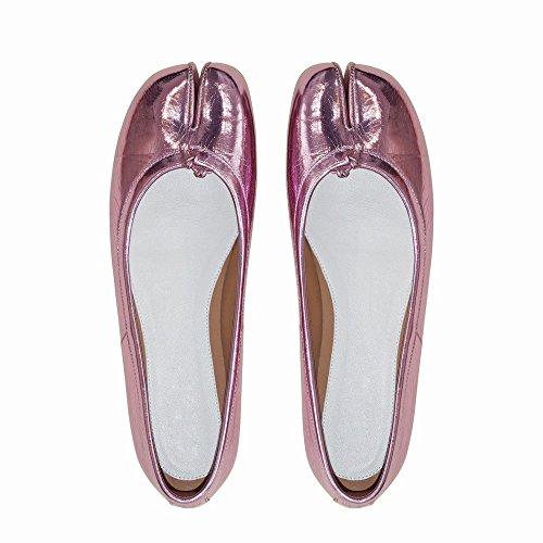 Bouche Fer Feu CWJ Peu Vraiment UNE Chaussures à Chaussures Split Plate Profondes Super Toe Cheval de R8fqxHB8