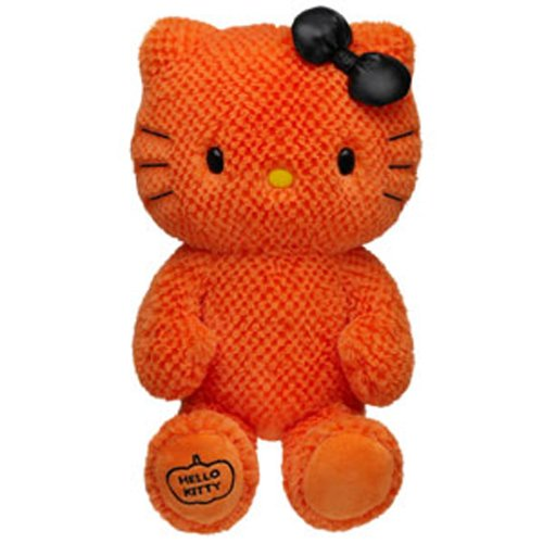Build a Bear Workshop, 18 in. Orange Hello Kitty by Sanrio Stuffed Animal