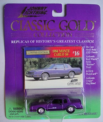 Amazon com: JOHNNY LIGHTNING CLASSIC GOLD COLLECTION PURPLE