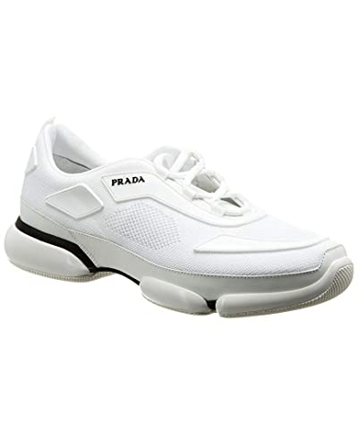 be636430f6c6b Amazon.com | Prada Cloudbust Mesh Sneaker, 8 UK, White | Running
