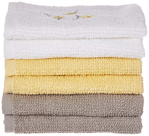 SKL Home by Saturday Knight Ltd. Spring Garden Wash Cloth Set, Multicolored, 6-Pack from SKL HOME by Saturday Knight Ltd.
