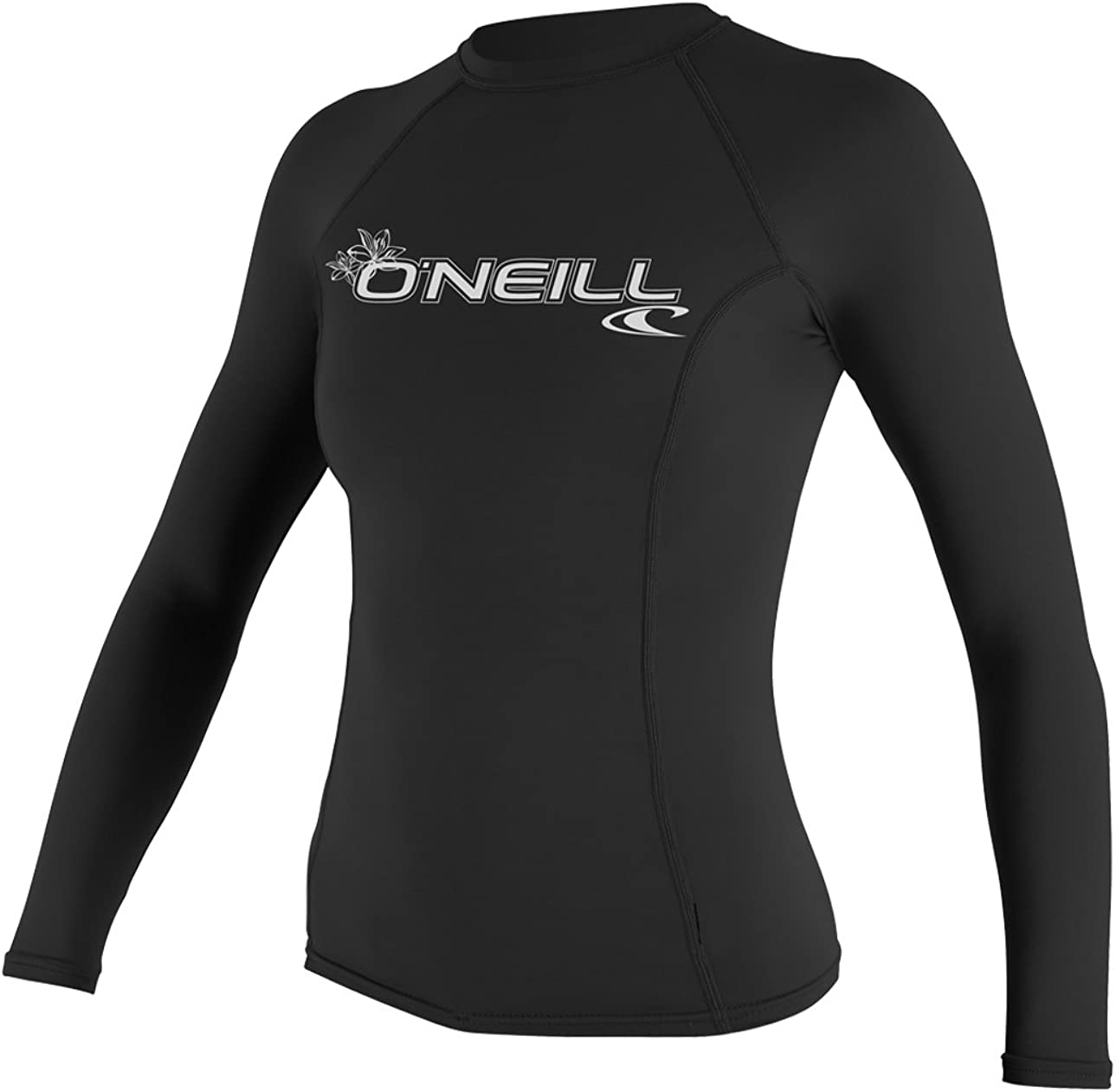 ONEILL WETSUITS UV Schutz WMS Basic Skins L//S Crew ONeill-Protector Solar para Mujer Color Negro Talla XS
