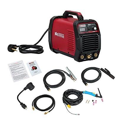 Amico 220 Amp HF TIG Torch/Stick/Arc Welder 115 & 230V Dual Voltage Welding Michine