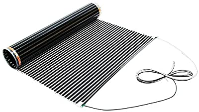ThermoFilm 120-Volt Floor Heating Film for Laminate and Engineered Wood Floors - Other Sizes Available