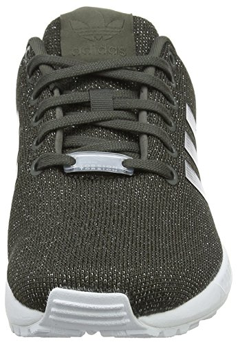 F16 F16 utility W Adidas Zx Donna Met Grey silver Multicolore Black Flux Sneaker utility P4T4qC