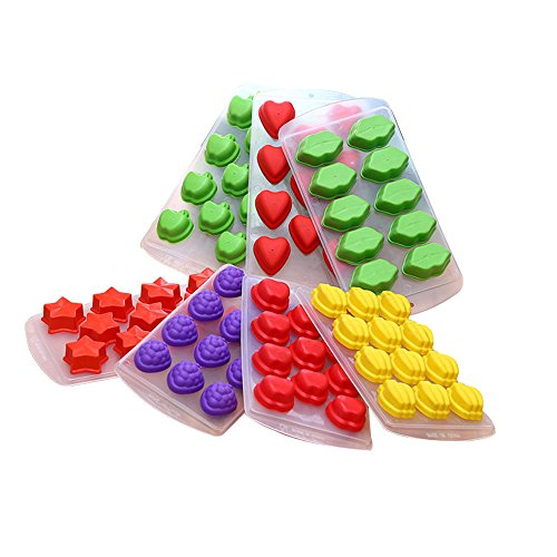 Cavities Silicone Chocolate Moulds Pentagramme product image