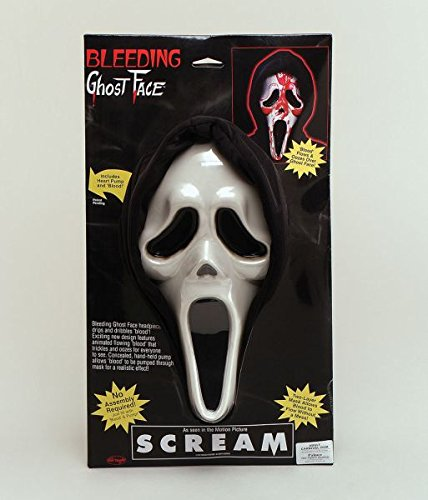Scream Mask Bleeding