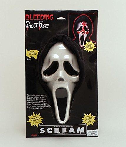 Scream Mask Bleeding -
