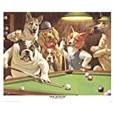 The Hustler by Arthur Sarnoff Art Print, 20 x 16 inches