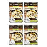 WOLFGANG PUCK | Gluten Free Organic Soups | Chicken w/Wild Rice | Gluten Free [ 4 Pack ]