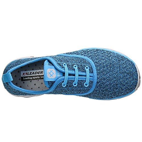ALEADER Frauen schnell trocknende Aqua Water Shoes Blau (stilvoll)