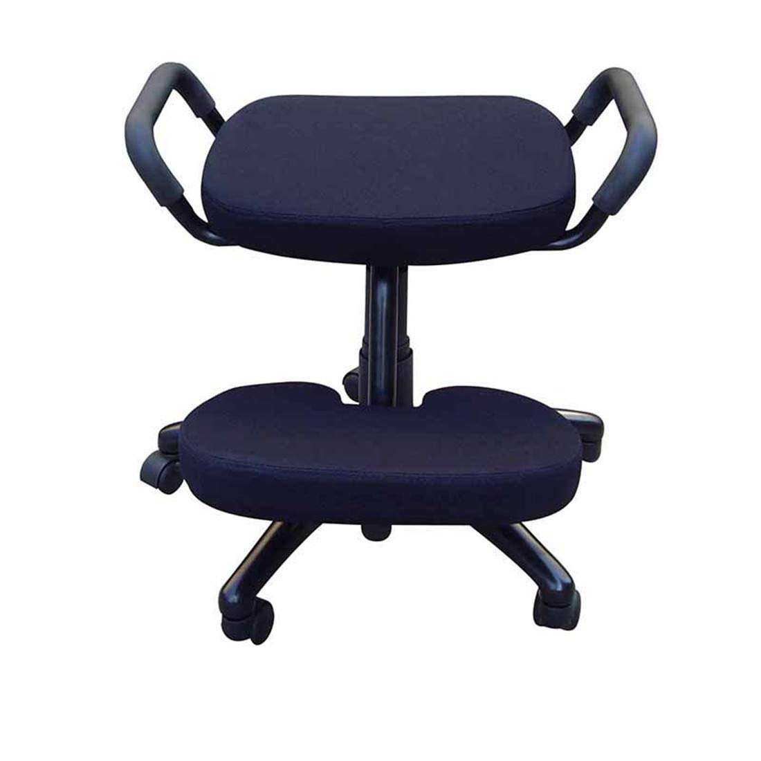 Office Kneeling Chairs Ergonomically Designed Knee Adjustable with Handle Ergonomic Posture Helps Prevent Coccyx Pain by AJ ZJ Kneeling Chairs