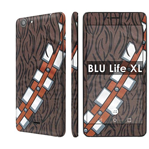 Chewbacca Life - BLU Life XL Decal Mania Skin Sticker [Matching Wallpaper] - [Chewbacca] for BLU Life XL [5.5