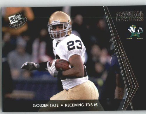 Golden Tate - Notre Dame (National Leaders)(Rookie Year Card) 2010 Press Pass NFL Draft ()