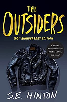 Image result for the outsiders book cover 50th anniversary