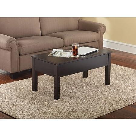 Amazon.com: Mainstays Lift-Top Coffee Table // color: Espresso: Kitchen &  Dining - Amazon.com: Mainstays Lift-Top Coffee Table // Color: Espresso