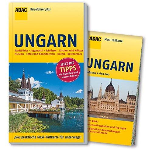 ADAC Reiseführer plus Ungarn: mit Maxi-Faltkarte zum Herausnehmen