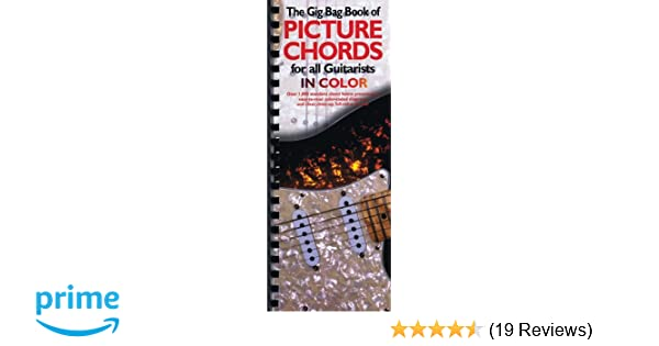 Amazon Gig Bag Book Of Picture Chords For All Guitarists In
