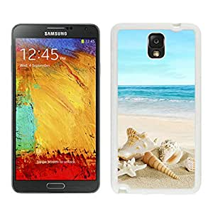 Samsung Galaxy Note 3 Nature Sunny Sea Shell Beach White Screen Phone Case High Quality Durable Cover