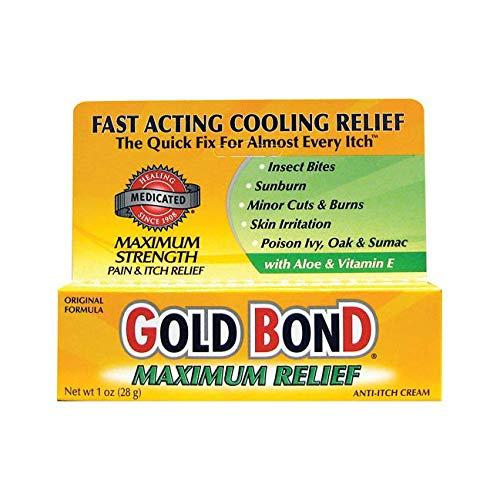 Gold Bond Maximum Strength Medicated Anti-Itch Cream - 1 oz
