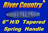 """River Country Heavy Duty 6"""" Spring Handle for BBQ"""