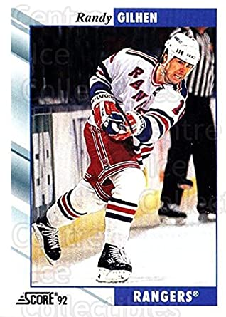Randy Gilhen Amazoncom CI Randy Gilhen Hockey Card 199293 Score USA base