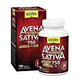 Natural Balance Avena Sativa Wild Oats 750 mg | Herbal Supplement for Healthy Energy, Stamina & Focus | Brain & Mood Support | Lab Verified | 100 Tabs
