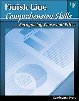 Reading Comprehension Workbook: Finish Line Comprehension