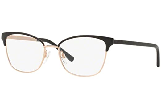 Michael Kors ADRIANNA IV MK3012 Eyeglass Frames 1113-49 - Black/rose Gold