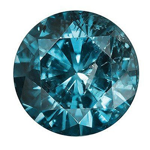 Platinum Loose Diamonds - Dazzlingrock Collection 0.10CT Loose Blue Diamond (1 pcs)