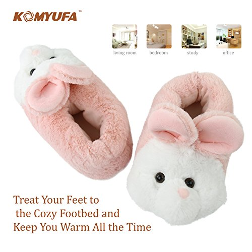 Cozy Slipper Pink Bunny Foam Indoor Home Komyufa Animal Women Slippers Memory House Outdoor PX8T8xqC