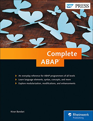 PDF -Download Complete ABAP: The Comprehensive Guide to ABAP