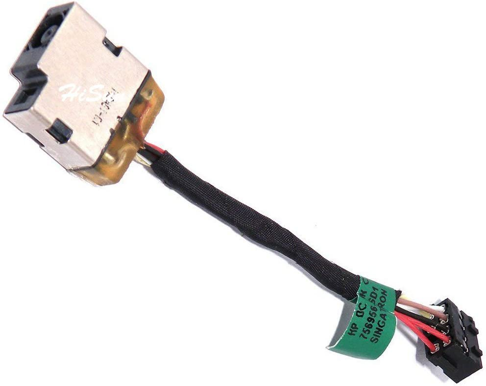 DC POWER JACK HARNESS W//CABLE FOR HP 755727-001 756956-SD1 756996-FD1 730932-FD1