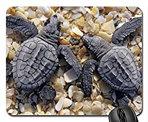 2 turtles Mouse Pad, Mousepad (Reptiles Mouse Pad)