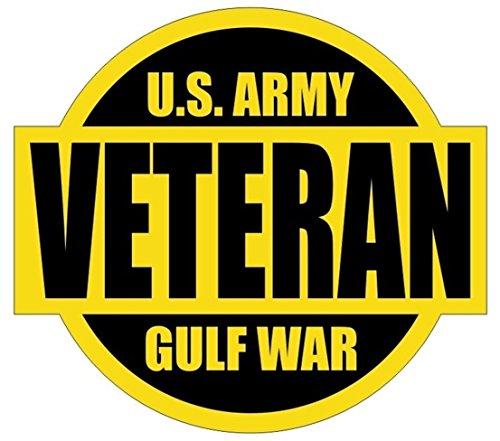 - 1-Pcs Ideal Popular U.S. Army Gulf War Veteran Car Stickers Sign Kit On Board Armed Forces Helmet Stick Size 2