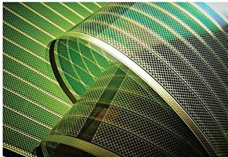 Photovoltaik Modul   Grün   Transparent   Solarfolie   OPV PV Solar   Organic Photovoltaic