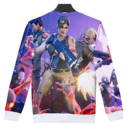 Maglietta Unisex Fortnite EnjoyYourLife 3D Cappuccio Pullover Game Fortnite 3 Stampa Magliette Hoodie Felpa Sweatshirt Fortnite con wwx7R4TH