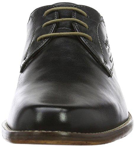 Bugatti 312232011000, Zapatos de Cordones Derby para Hombre Negro (Schwarz 1000)