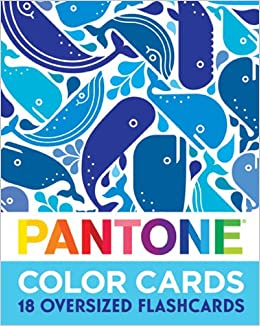 Pantone Color Cards 18 Oversized Flash Cards Pantone Andrew