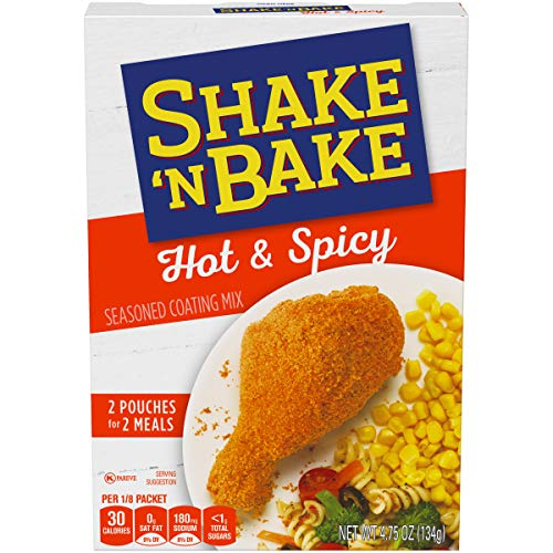 Shake 'N Bake Hot & Spicy Seasoned Coating Mix (4.75 oz Box)