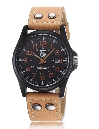 Relogio Hombre Lujo famosos doble hebilla diseño marca Sports reloj de cuarzo de hombre Relojes de pulsera, Verde: Amazon.es: Relojes