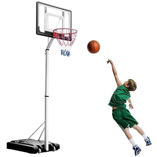 Canasta de baloncesto YXX Juego de aro de Baloncesto for niños ...