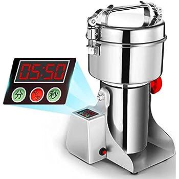 Marada 2000g Pulverizer Grinding Machine Stainless Steel 25000 r/min Pulverizer Machine for Kitchen Herb Spice Pepper Coffee Powder Grinder (2000g)