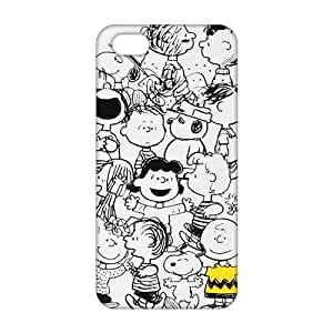 Cosy snoopy family 3D For Ipod Touch 4 Phone Case Cover