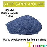Tonmp 3 Pounds Rock Tumbler Refill Grit Media Kit