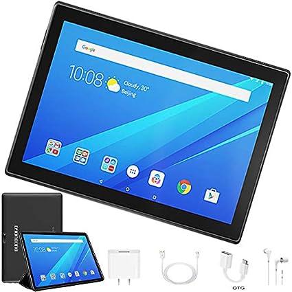 Tablet 10 Pulgadas 4G Full HD, 32GB ROM/64GB, 4G/WiFi/OTG (Soporte: Netflix) Android 7.1 Tablet PC Octa-Core 8500mAh Dual SIM 8MP Cámara 2GB de RAM ...