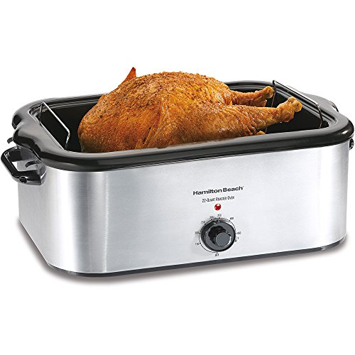 Hamilton 24 Pound Turkey Roaster Capacity